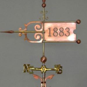 1883 Weathervane Banner