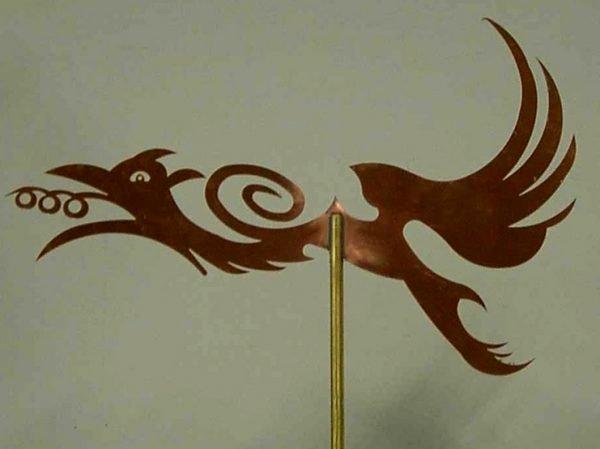 Abstract Dragon Weathervane