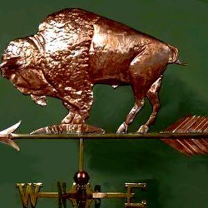 American Nickel Buffalo Weathervane