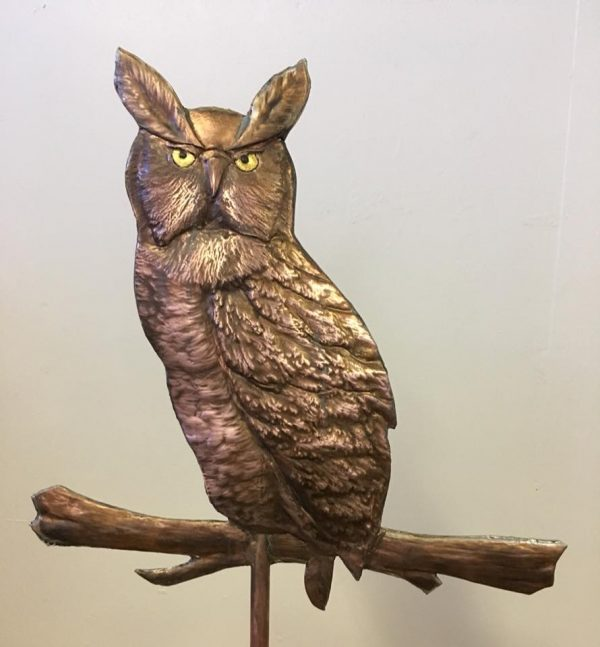 Ann's Owl Weathervane