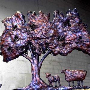 Apple Tree Weathervane
