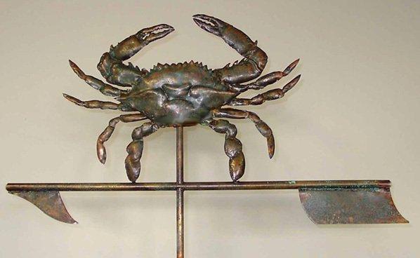 Blue Crab Weathervane