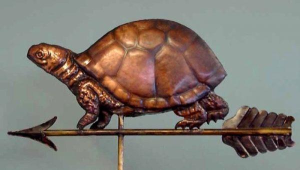 Box Turtle Weathervane