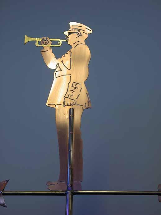 Bugler Weathervane