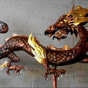 Chinese Dragon CA Weathervane