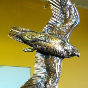Diving Falcon Weathervane