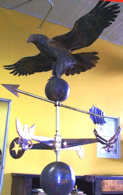Fort Meade Eagle Weathervane