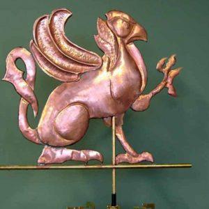 Griffin Mascot School Weathervane