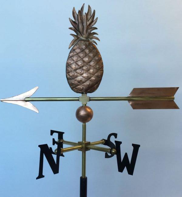La Petite Pineapple Weathervane