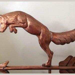 Leaping Fox Weathervane