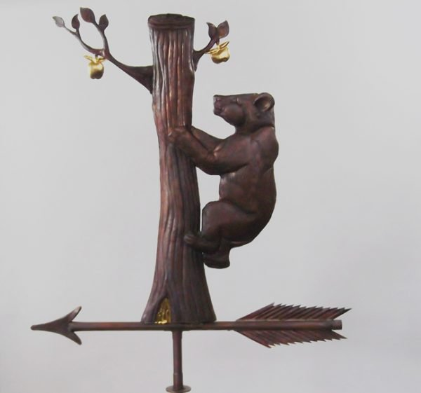 Newtown Hungry Bear Weathervane