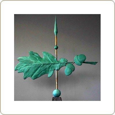 Oak Leaf and Acorn 2 Weathervane