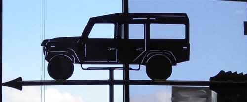 Range Rover Weathervane