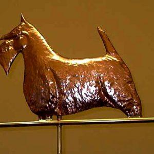 Scottish Terrier Weathervane