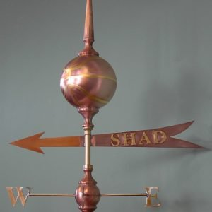 Shad Banner Weathervane
