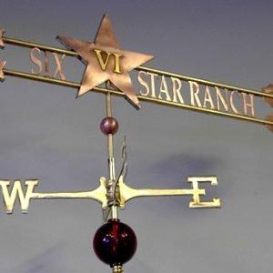 VI Star Ranch Weathervane