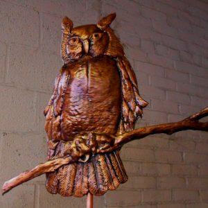 SkyArt Owl Weathervane
