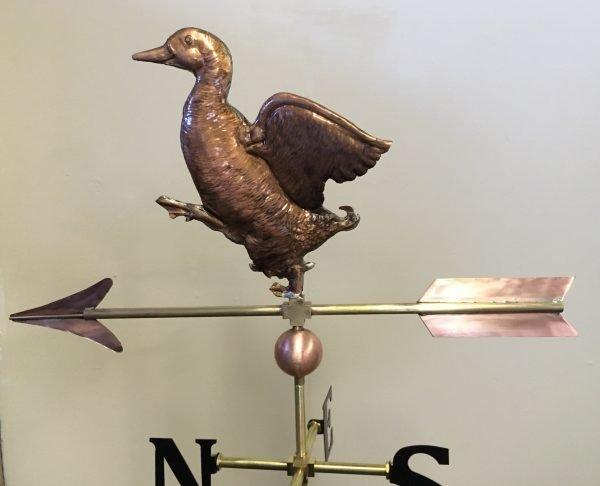 La Petite Strutting Duck Weathervane