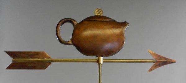 La Petite Teapot 2 Weathervane