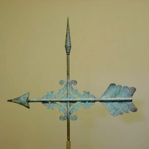 Verdigris Arrow Weathervane