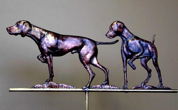 Vizsla Dogs Weathervane