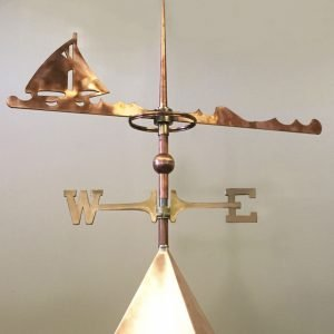 Custom Sailboat Weathervane