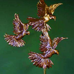 Three Doves Weathervane